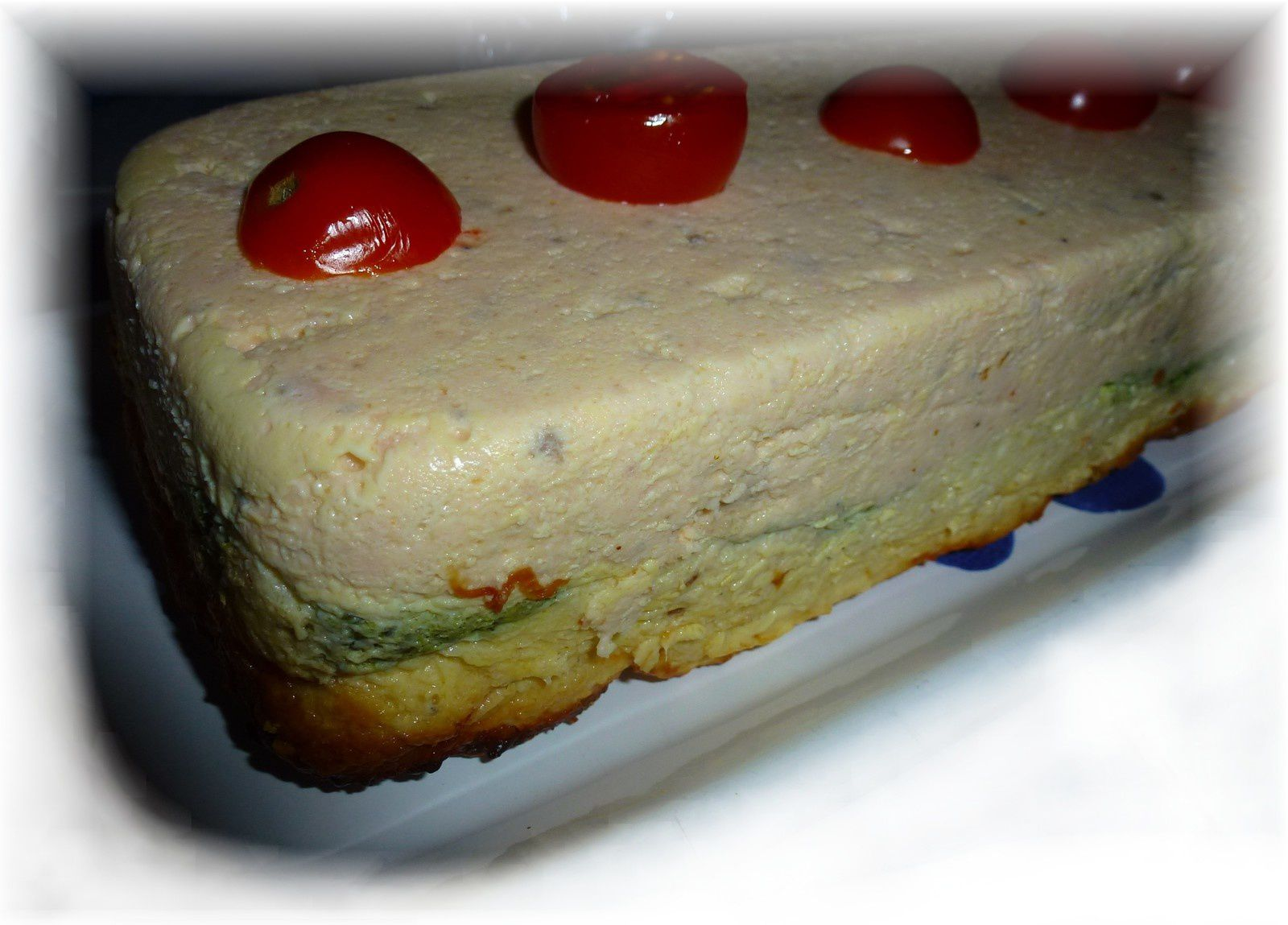 TERRINE DE POISSONS TRICOLORE