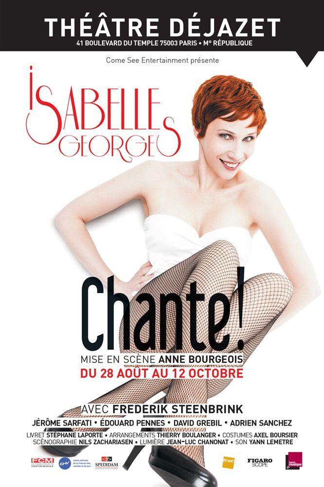 Isabelle GEORGES - &quot&#x3B;Chante&quot&#x3B;