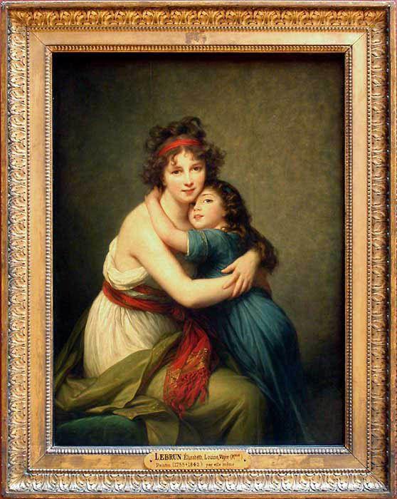 Elisabeth Louise VIGEE LE BRUN au Grand Palais