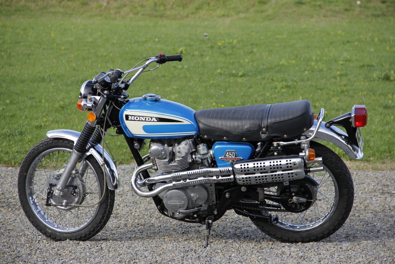 restauration honda cl 450 de 1974 breizh moto ancienne. Black Bedroom Furniture Sets. Home Design Ideas