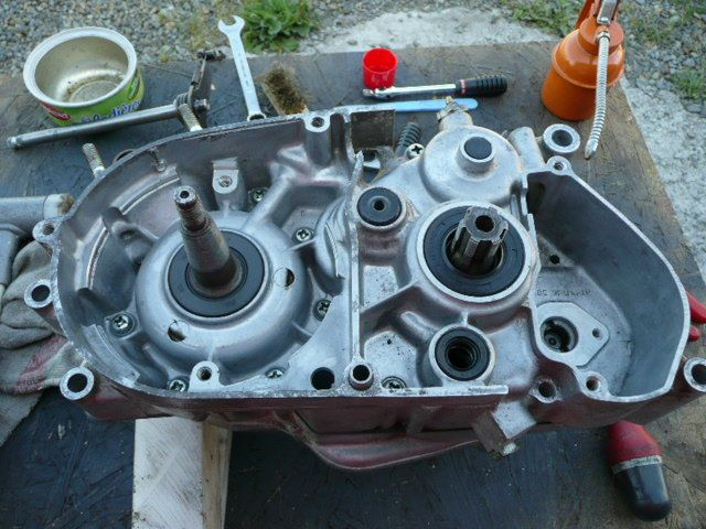 Remise en état moteur de Suzuki Van Van Rv 125