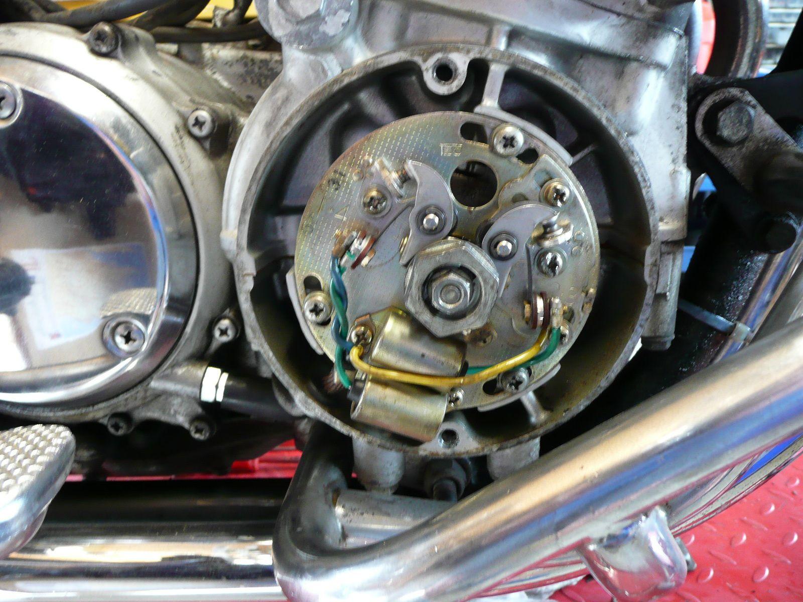 Révision, Remise en état Honda Cb 750 K7
