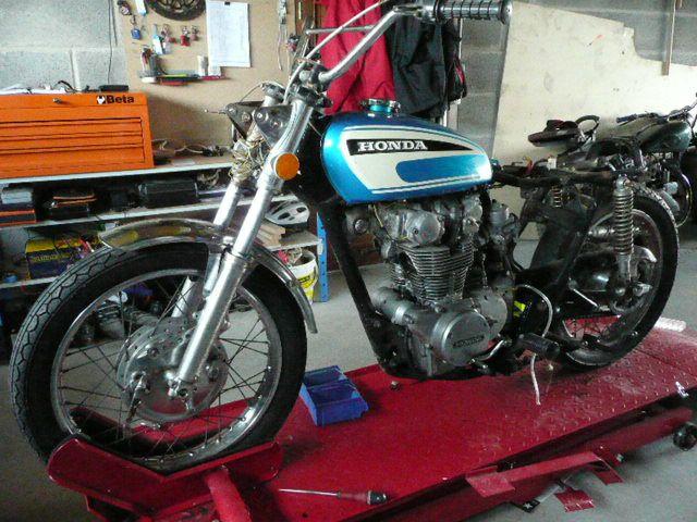 Restauration Honda CL 450 de 1974