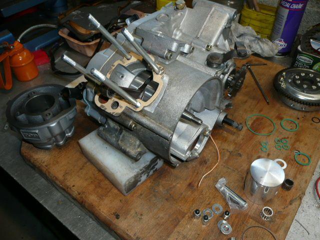 Montage Kit 80 sur moteur Minarelli