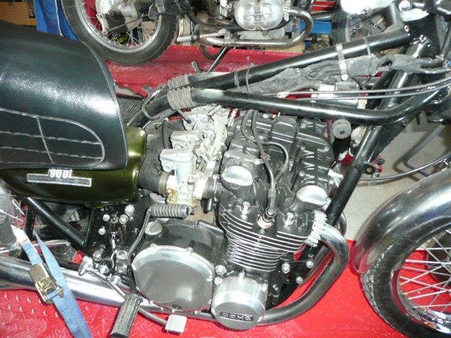 Kawasaki 900 Z 1 de 1973
