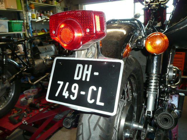 Commande Client .. Honda Cb 750 K0
