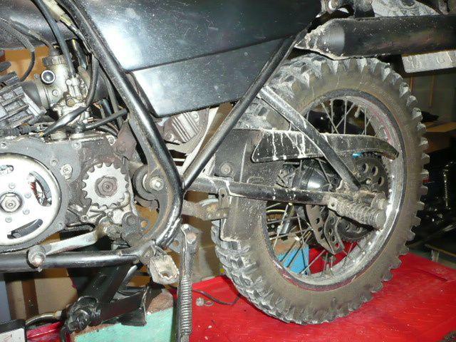 Révision Yamaha DTMX 125
