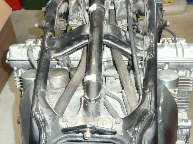 Honda Cbx 1000 A .  Remise en état.