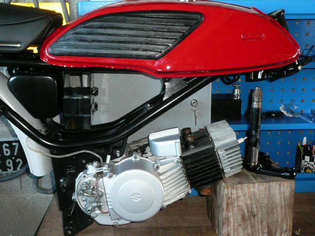 Suzuki T125 de 1972