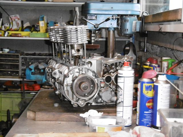 Honda 550 F1 Remise en état moteur