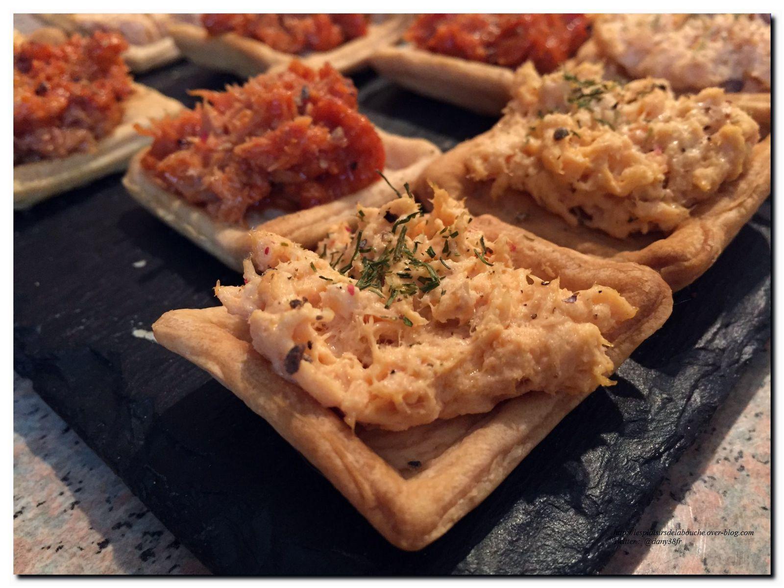 Canap s pour ap ritif for Canape aperitif