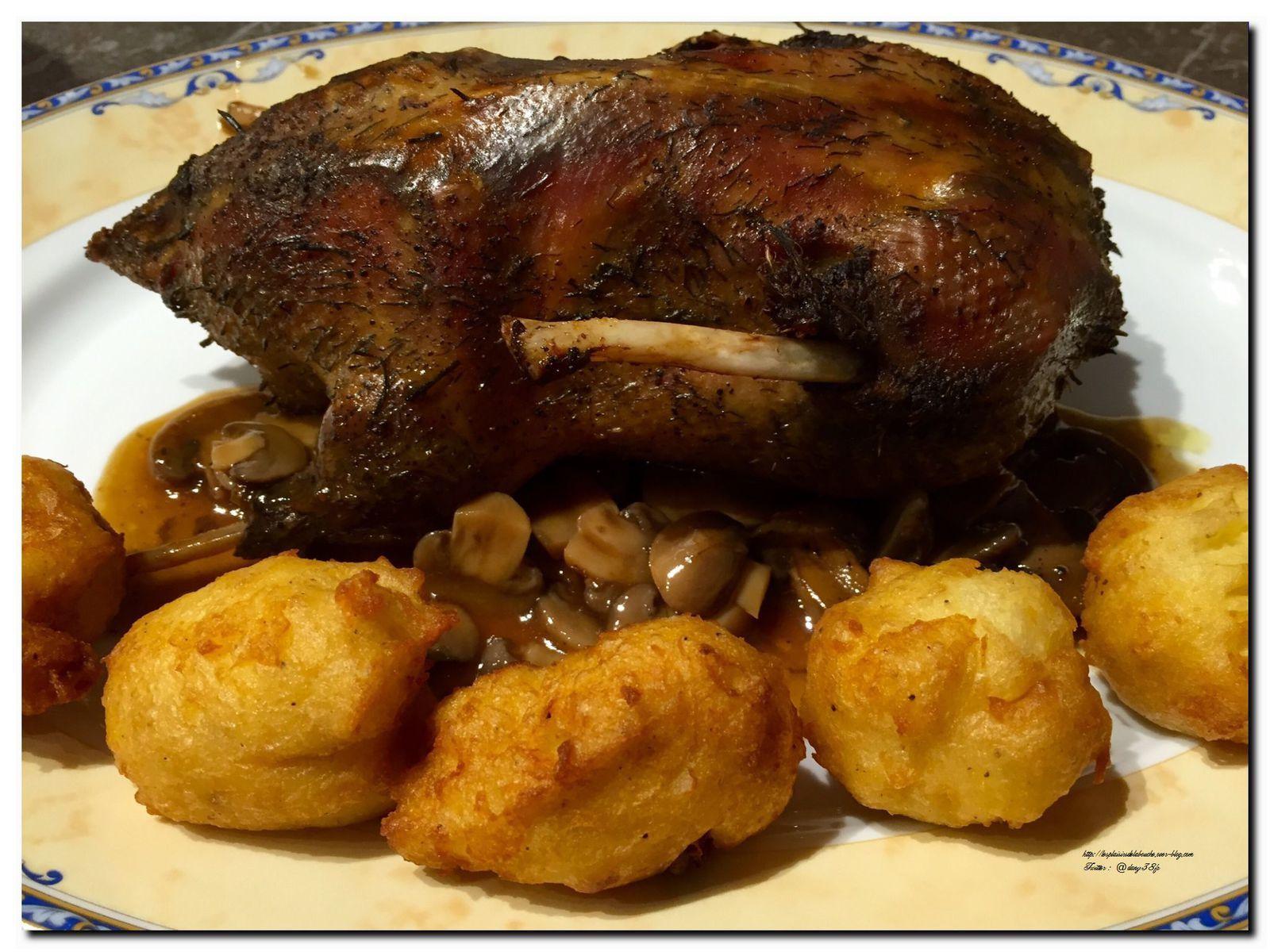Canard r ti au four en cocotte les plaisirs de la bouche - Recette manchons de canard en cocotte ...