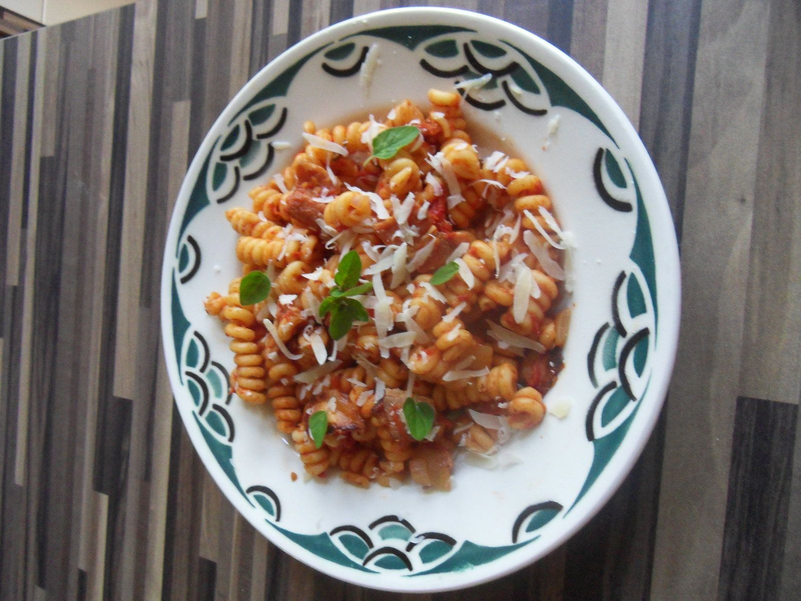 Fusilli Bucatti all 'Amatriciana
