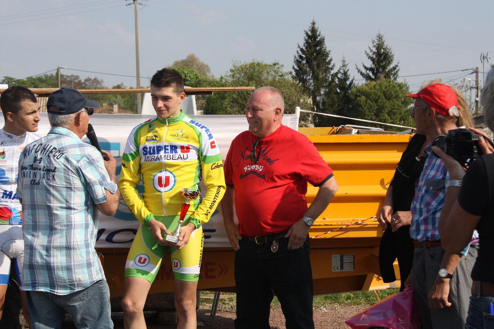 Antoine  ALLIN  est  le  1er  Junior
