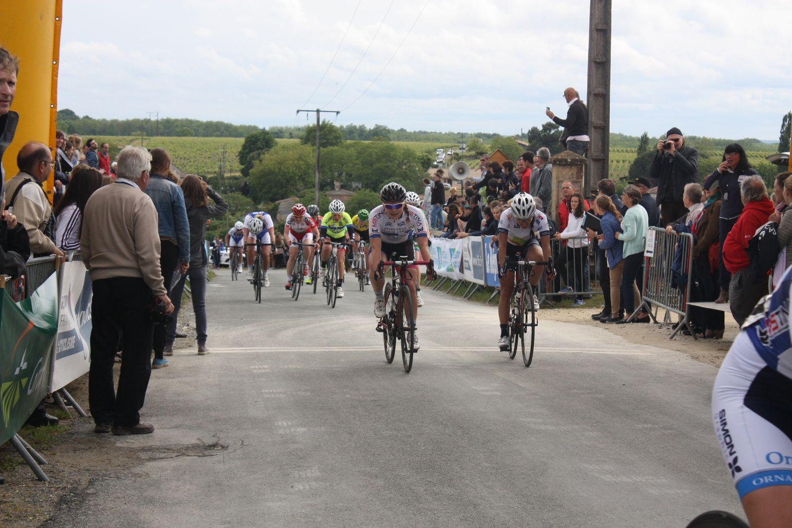 Victoire  pour  Severine  ERAUD  devant  Pascale  JEULAND. 13e  place  pour  Pauline  ALLIN, 25e  Héléne  PILOTE-FORTIN, 44e  Anais  BORDES, 48e  Lola  PROSPER.