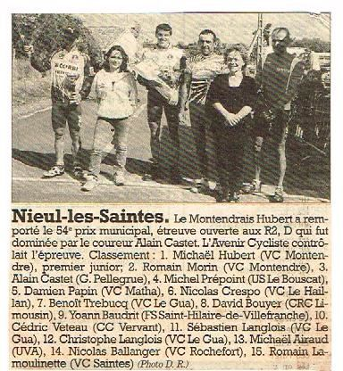 RAYONS  SOUVENIRS  2001