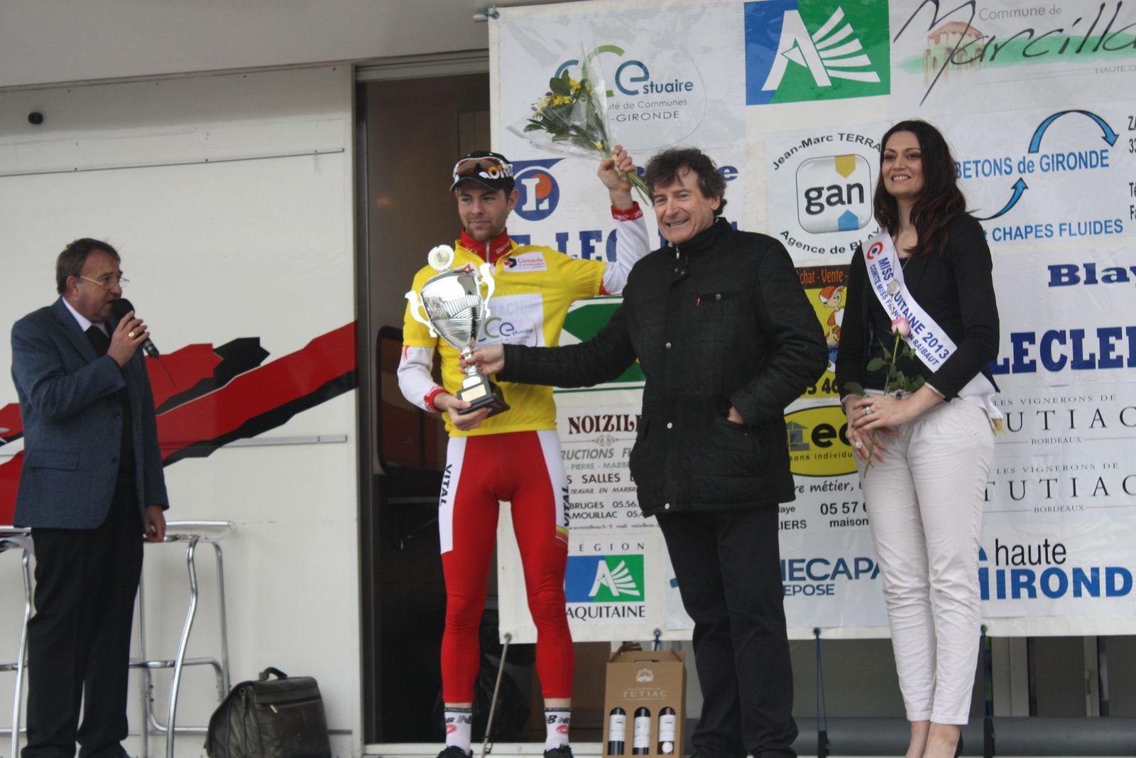 Luc  TELLIER  remporte  le  classement  général