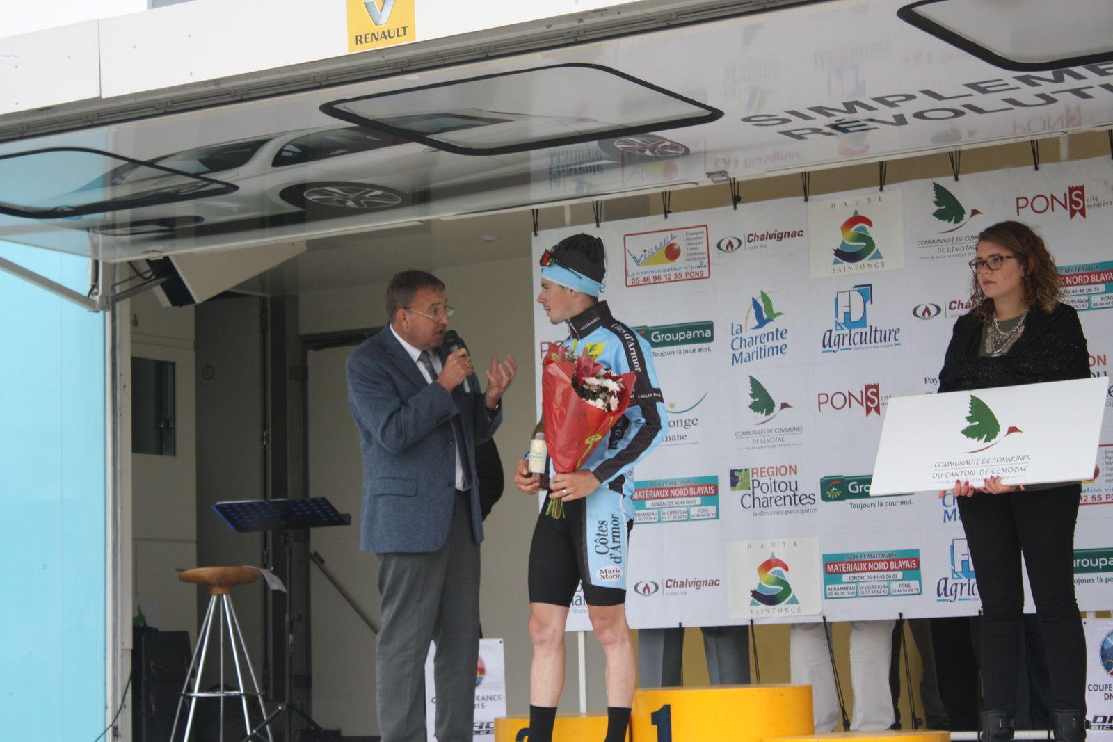Fabien  SCHMIDT  remporte  cette  1er  étape