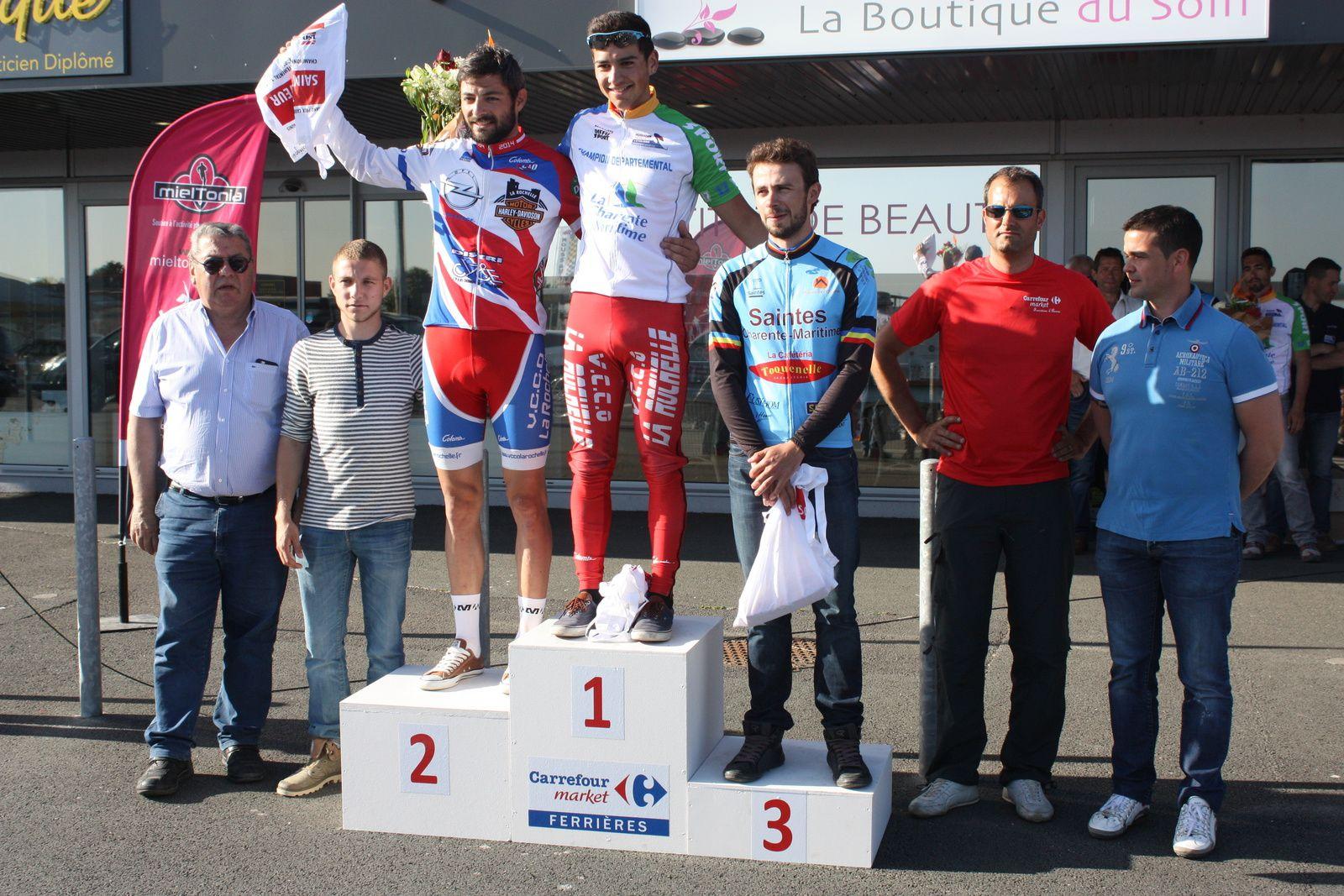 Le  podium  des  2e  catégorie