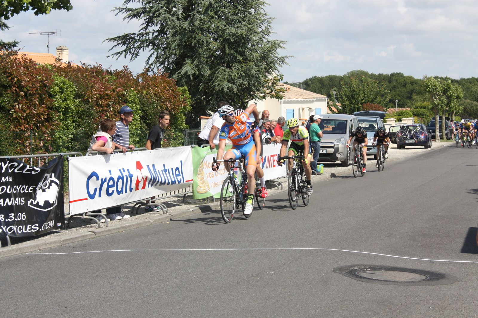 Christopher  BLANDIN  remporte  le  1er  sprint