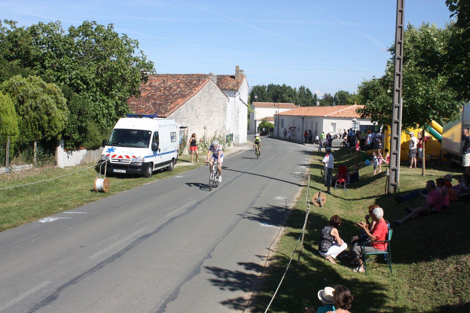 3e  place  pour  Jean-Patrick  TISSEAU , 4e  Jérémy  BELLICAUD