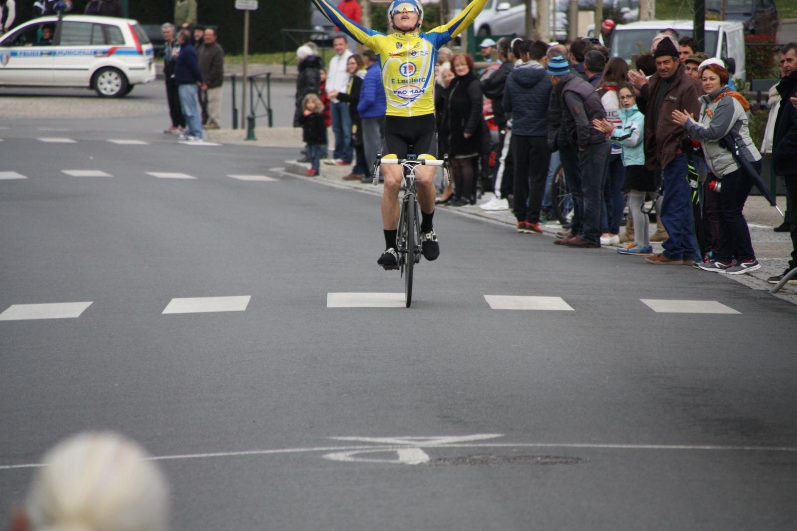 Victoire  pour  un  jeune  estonien  Gert  KIVISTIK(UV  Limousine)