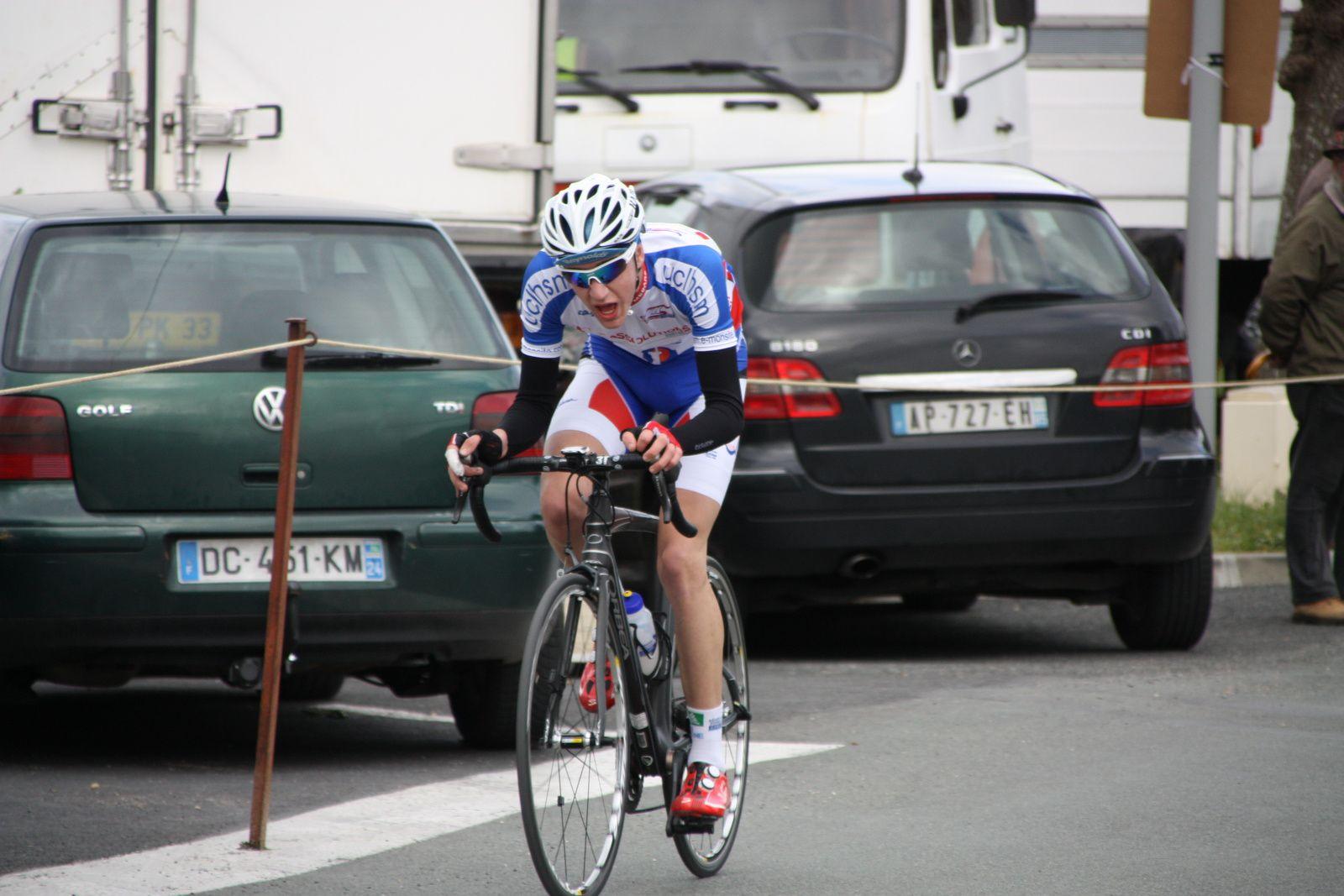 Thierry  BILLOT  sur  un  sprint