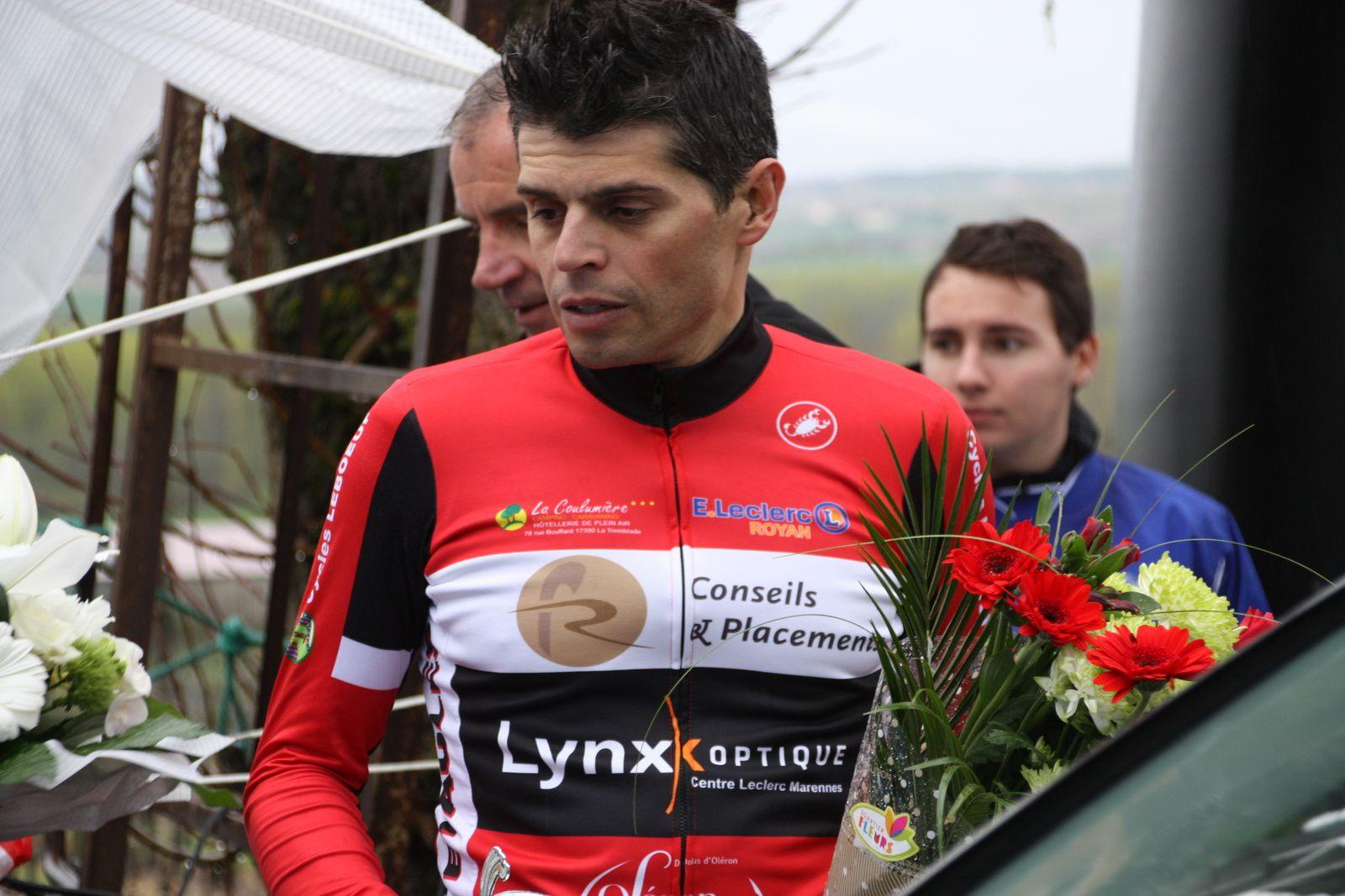 Laurent  PINEAU  est  le  1er  des  3e  catégorie
