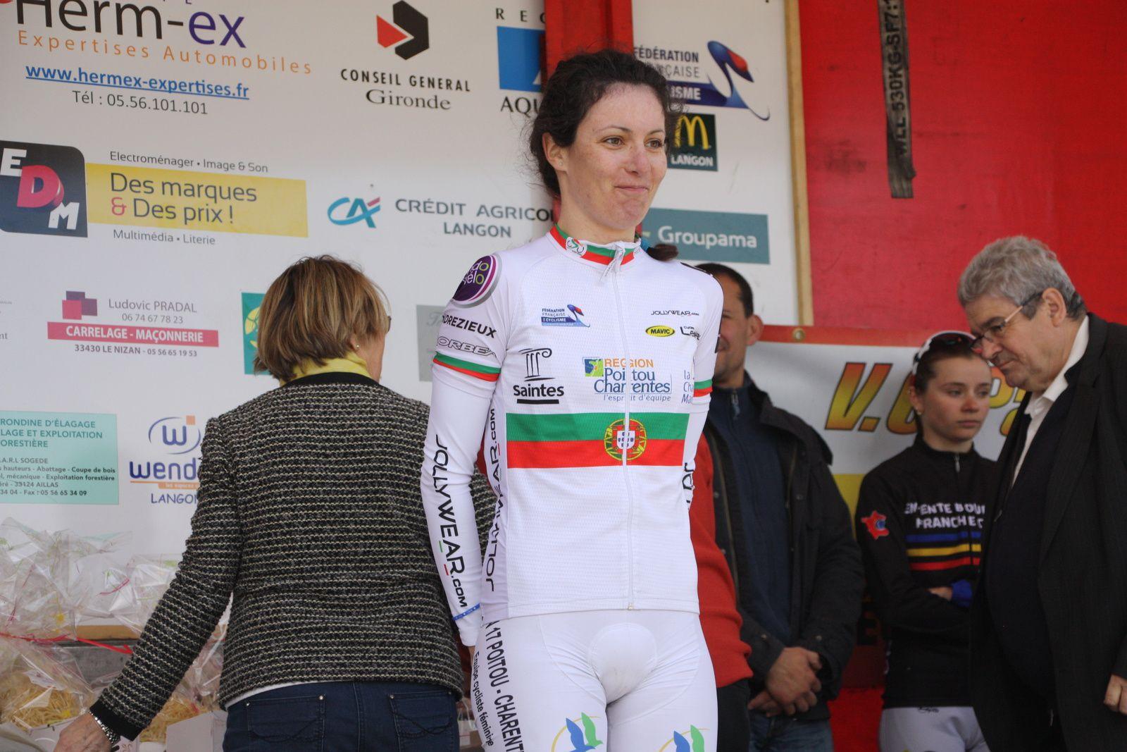 Nouvelle  victoire  pour  la  champione  du  portugal  Daniela  REIS (DN17. EC 3M)
