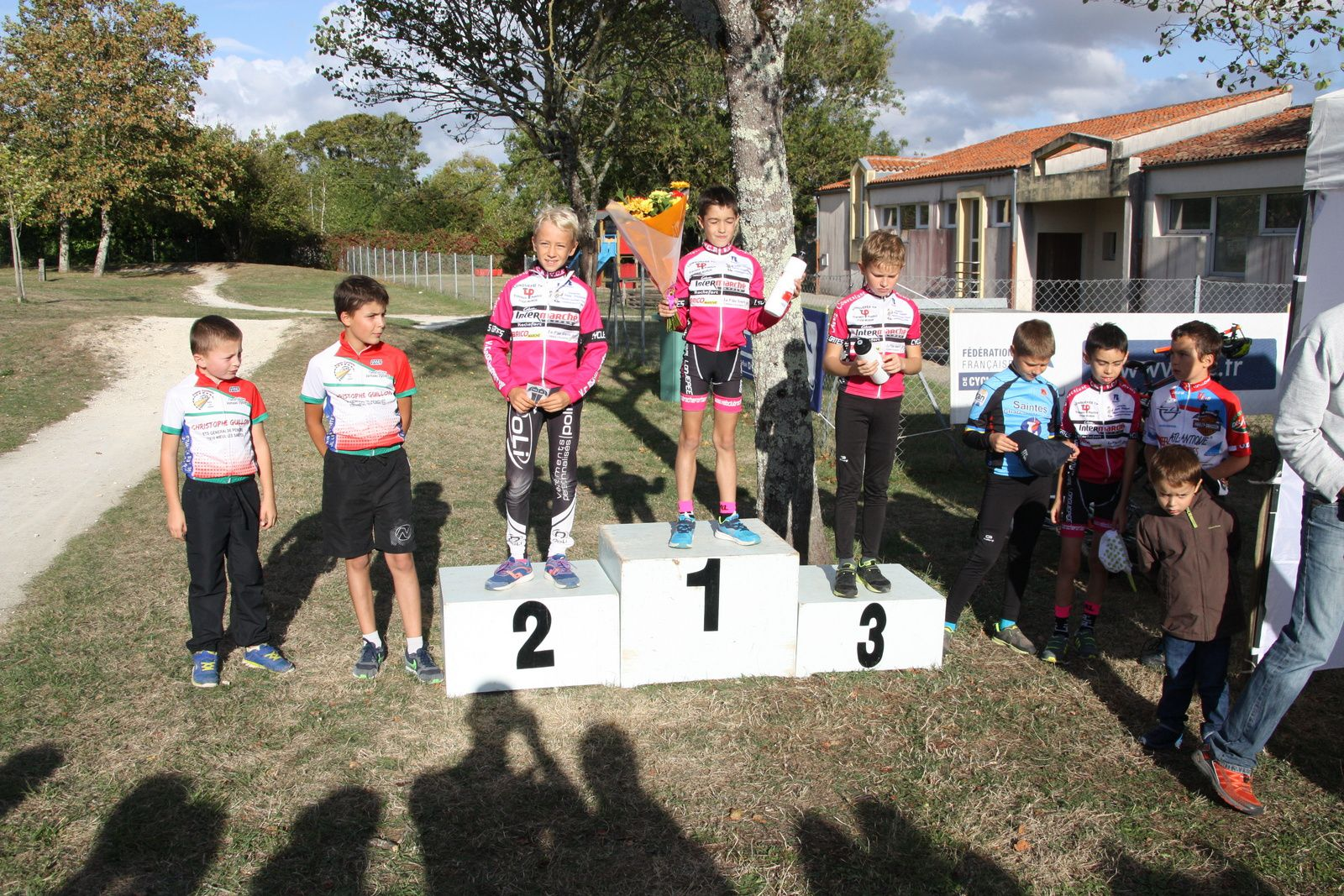 Le  podium  Pupilles