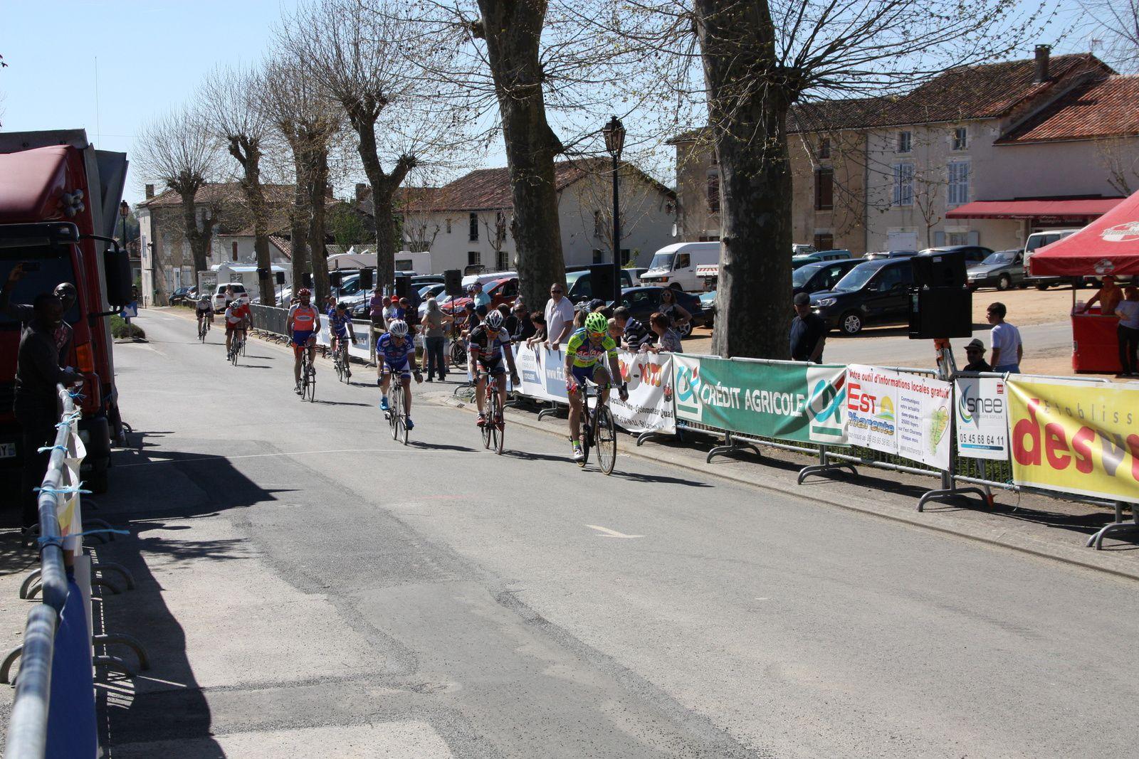 6e  Fabrice  CHARLOIS(AC  Jarnac-Aigre-Rouillac), 7e  Christian  LABROUSSE(R  Guataise), 8e  Paul  LOWRIE(G  Mansle)