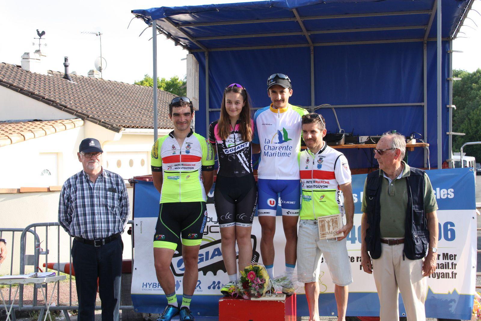 Mathéo  NICOLEAU  Champion  Départemental  2e  catégorie