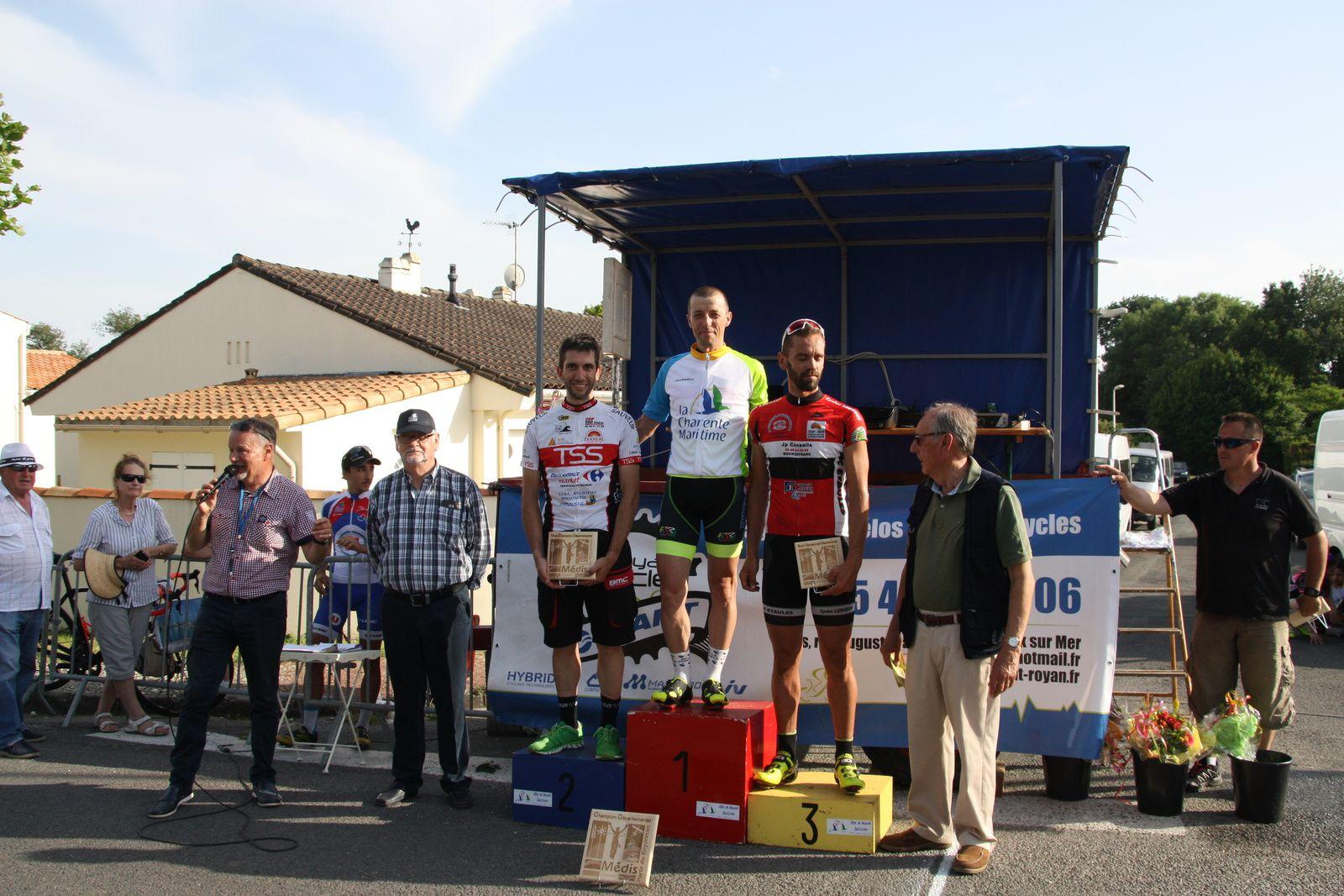 Cyril  BASTIERE  Champion  Départemental  3e  catégorie