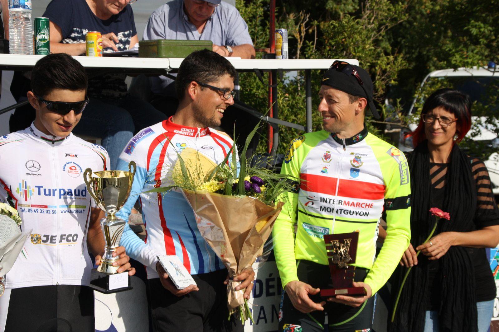Cyril  BASTIERE  1er  du  classement  par  points