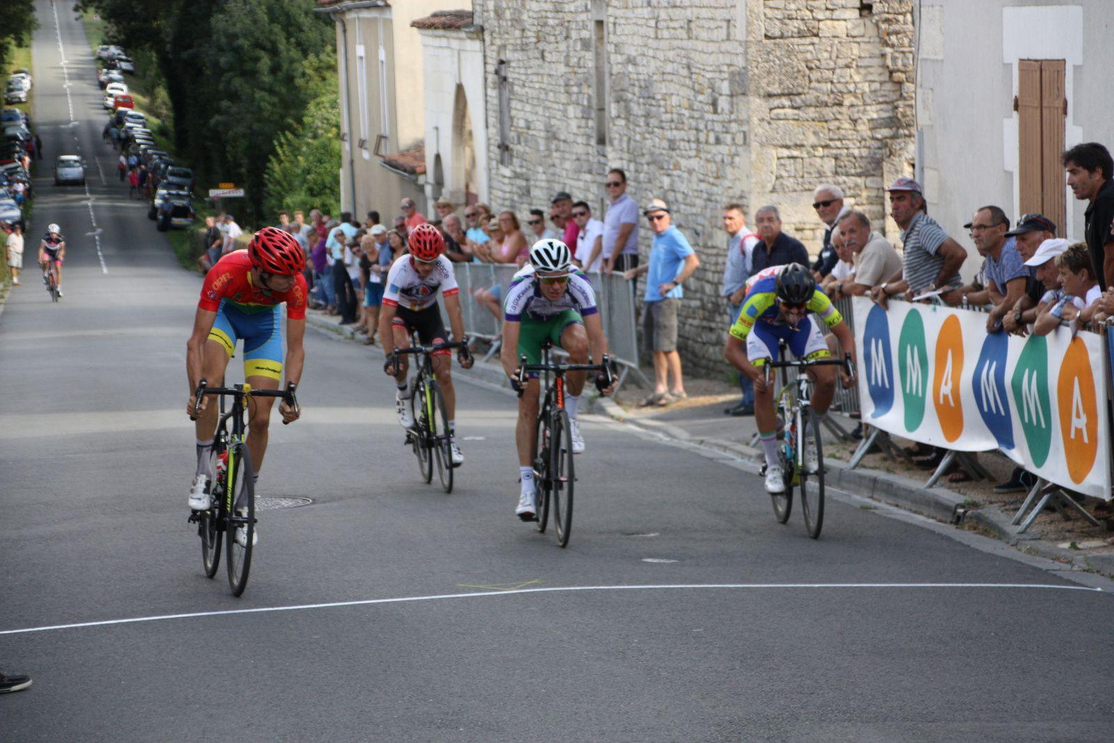 8e  Rudy  FIEFVEZ(AC  Nersac), 9e Yoan  PAILLOT(CO La Couronne),10e  Jacques  ABISROR(AC Jarnac-Aigre-Rouillac),