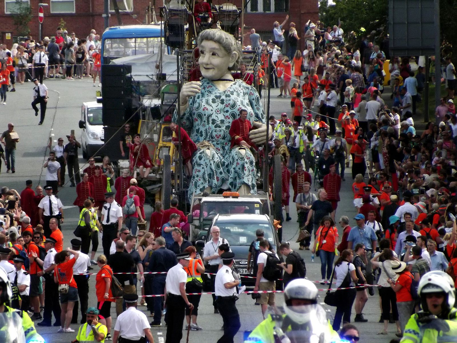 ROYAL DE LUXE at LIVERPOOL