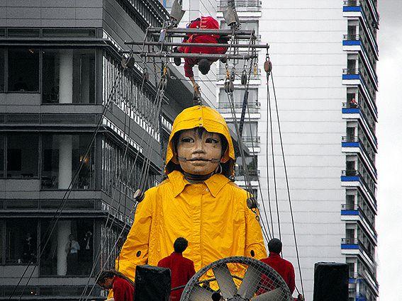 ROYAL DE LUXE LE RENDEZ-VOUS DE BERLIN OCTOBRE 2009
