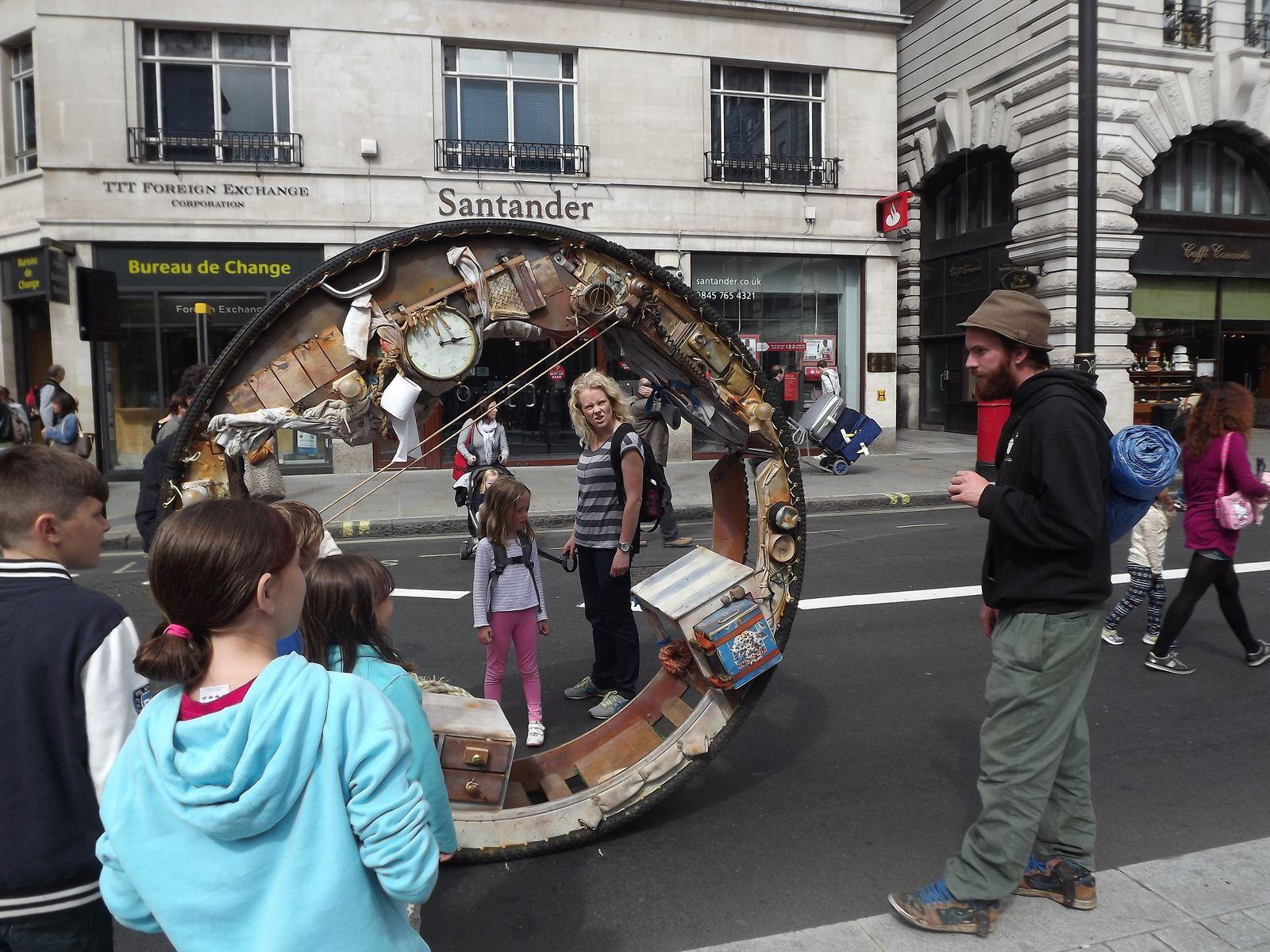 ACROJOU a Londres en 2012