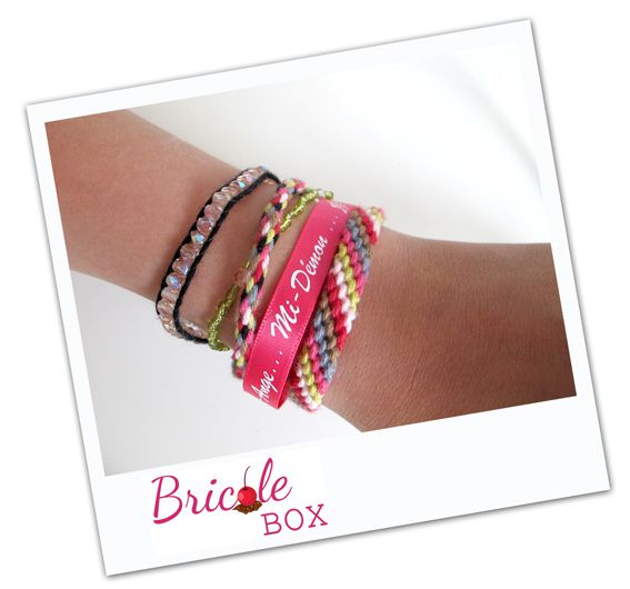 Créa # 4 Bricole Box &quot&#x3B;The One&quot&#x3B;: Un bracelet manchette