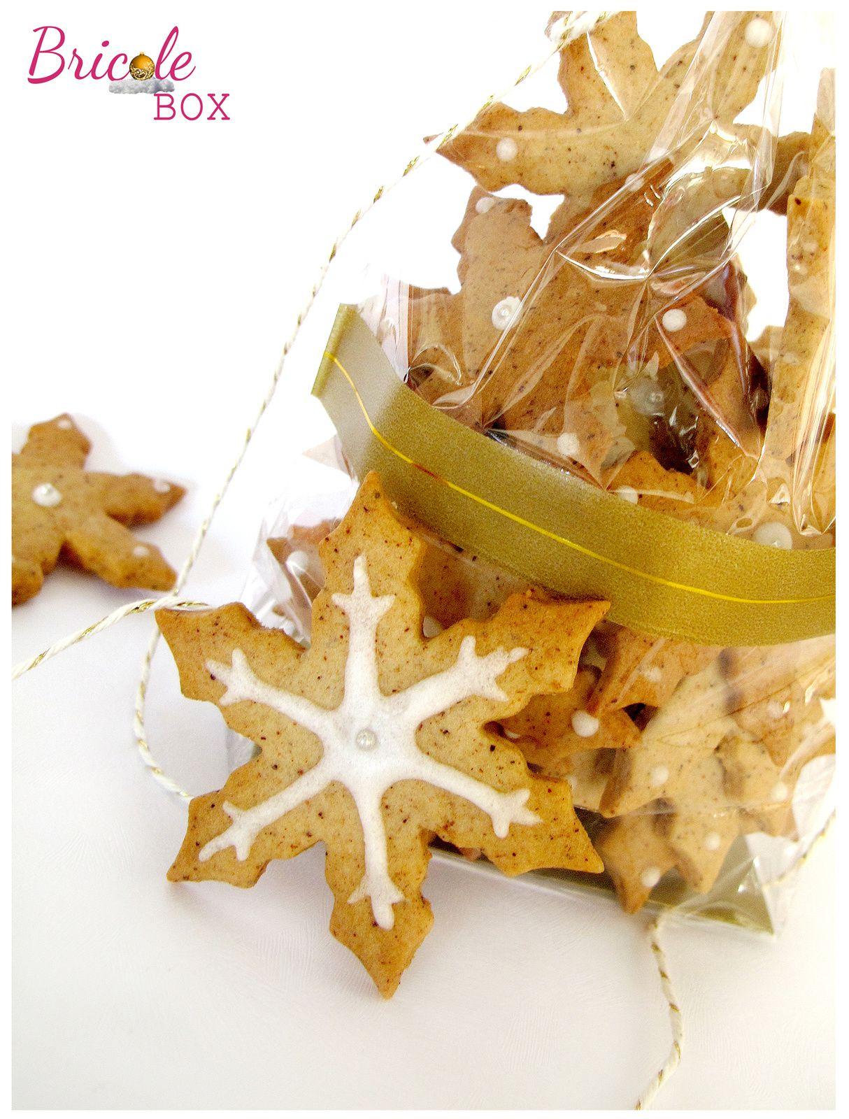 Créa # 4 Bricole Box &quot&#x3B;Noël&quot&#x3B; : Sablés cannelle à croquer... ou à offrir!