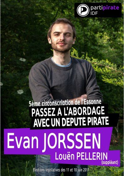 Législatives 2017 - 06 - Evan Jorssen (Parti Pirate)