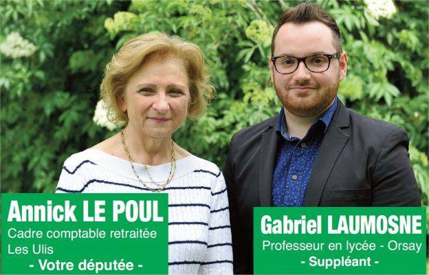Législatives 2017 - 10 - Annick Le Poul (Parti Communiste / Front de Gauche)