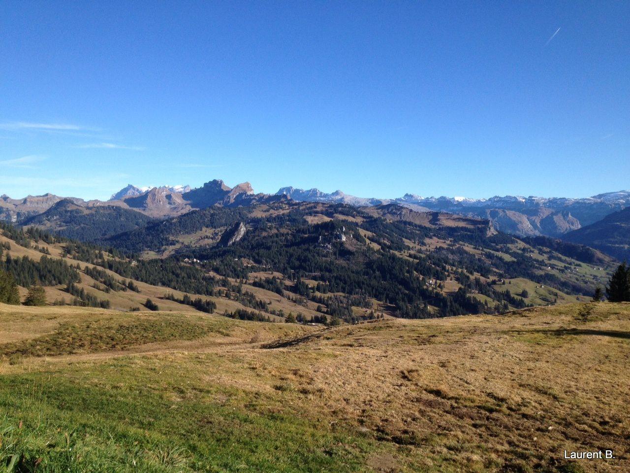 Beauté de montagnes suisses
