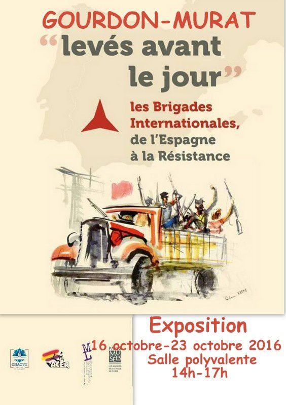 Levés avant le jour. Les Brigades Internationales de l'Espagne à la Résistance