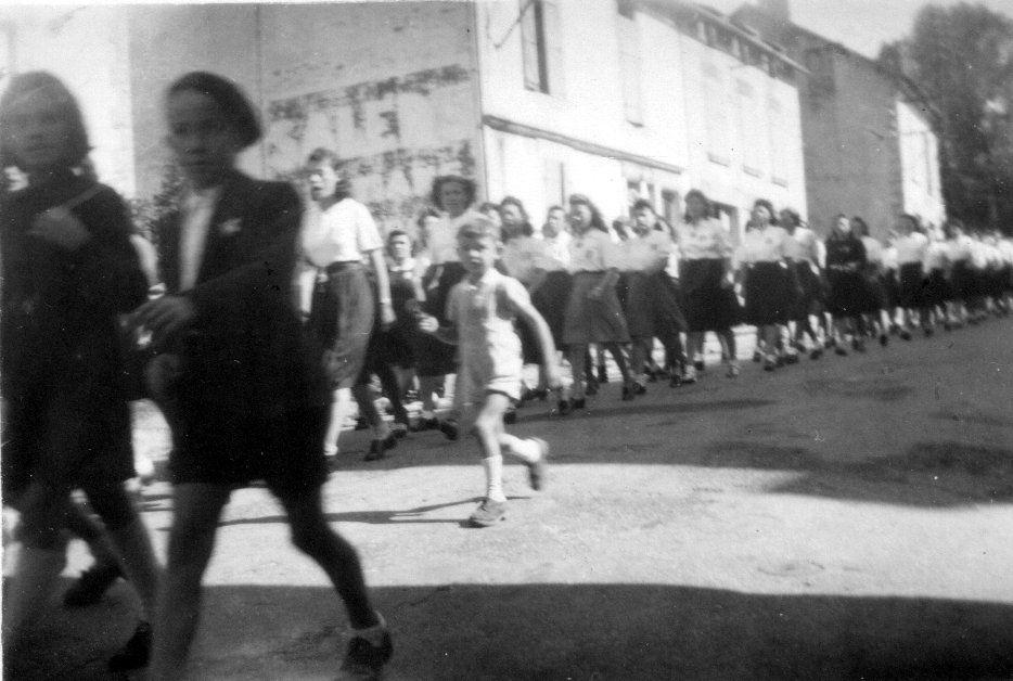 8 mai 1945 fête de la Libération à Bugeat
