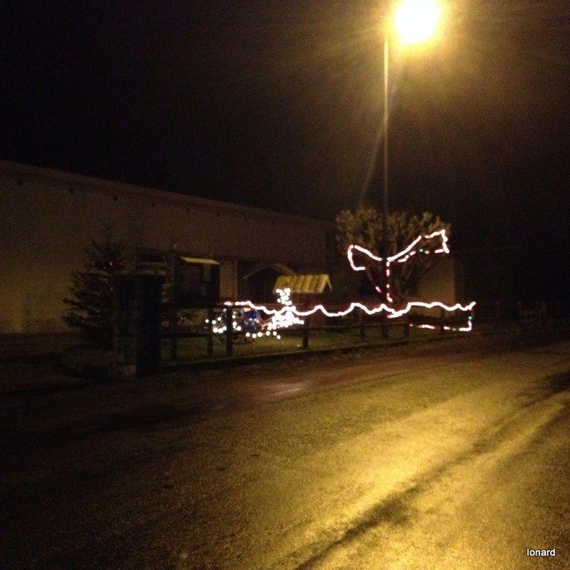 Les lumières du village