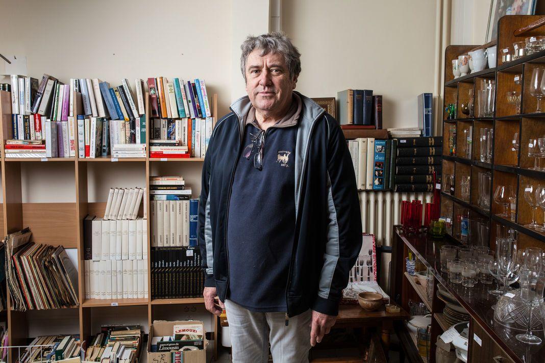 Photos du journal Le Monde. Vue de Bugeat- Jean-Luc Grand - Pierre Fournet et Anita Cavalli