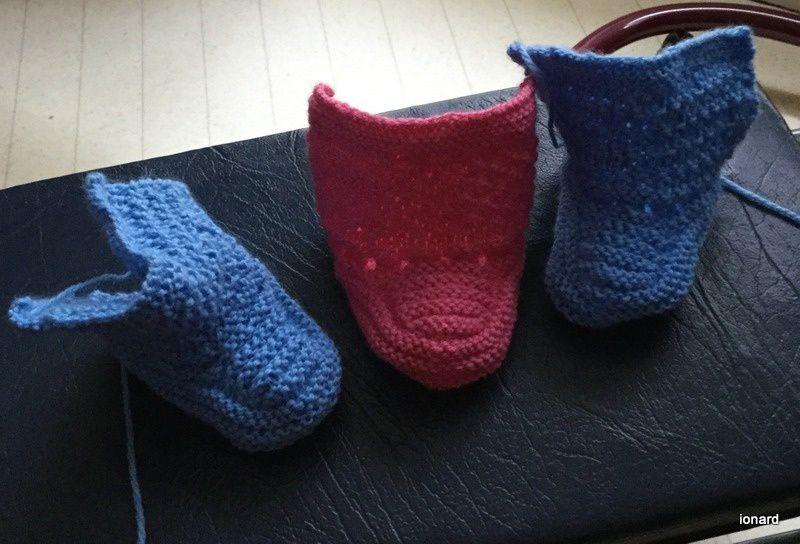 Les chaussons de Clémence