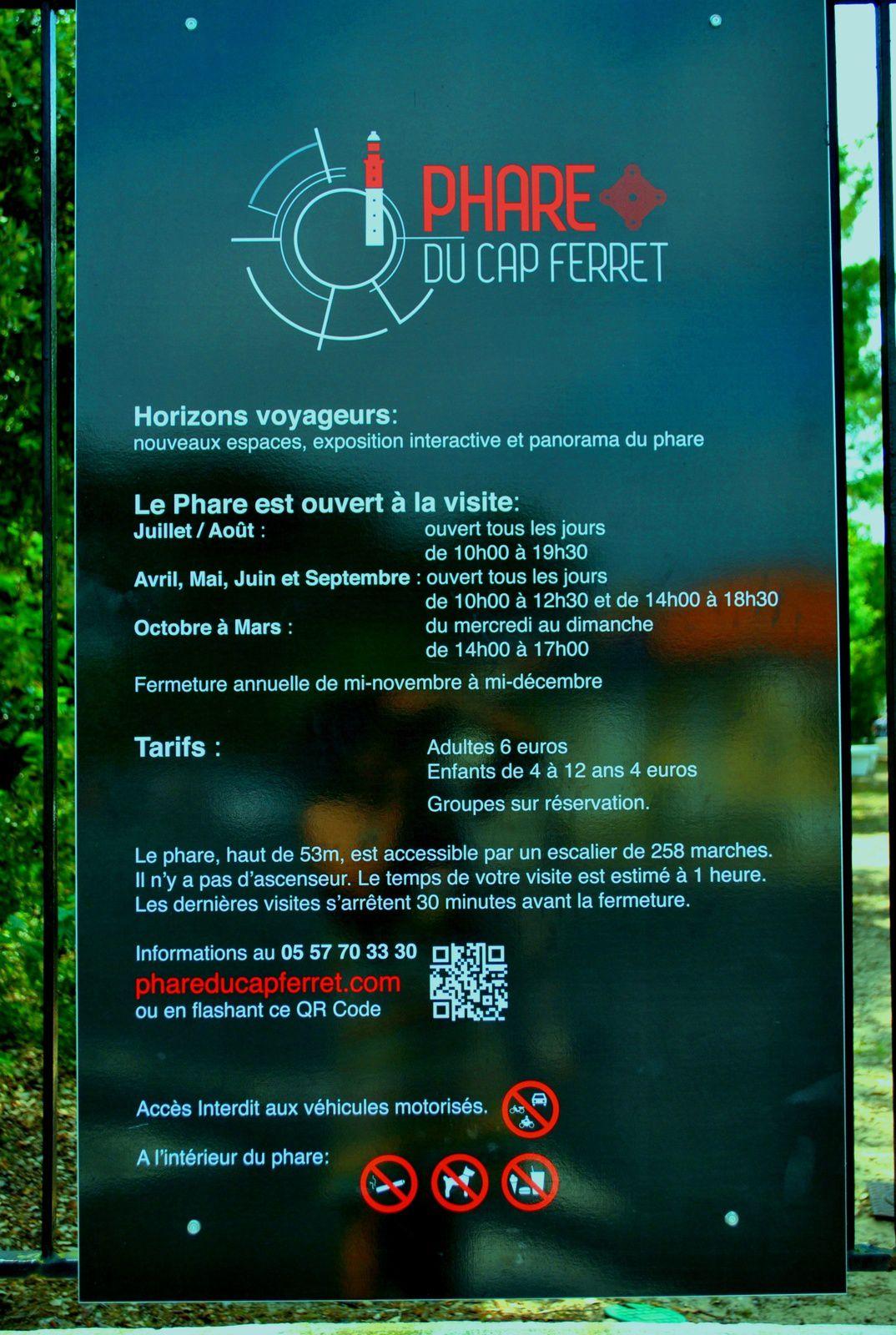 Bienvenue au Cap-Ferret, Bassin d'Arcachon, France