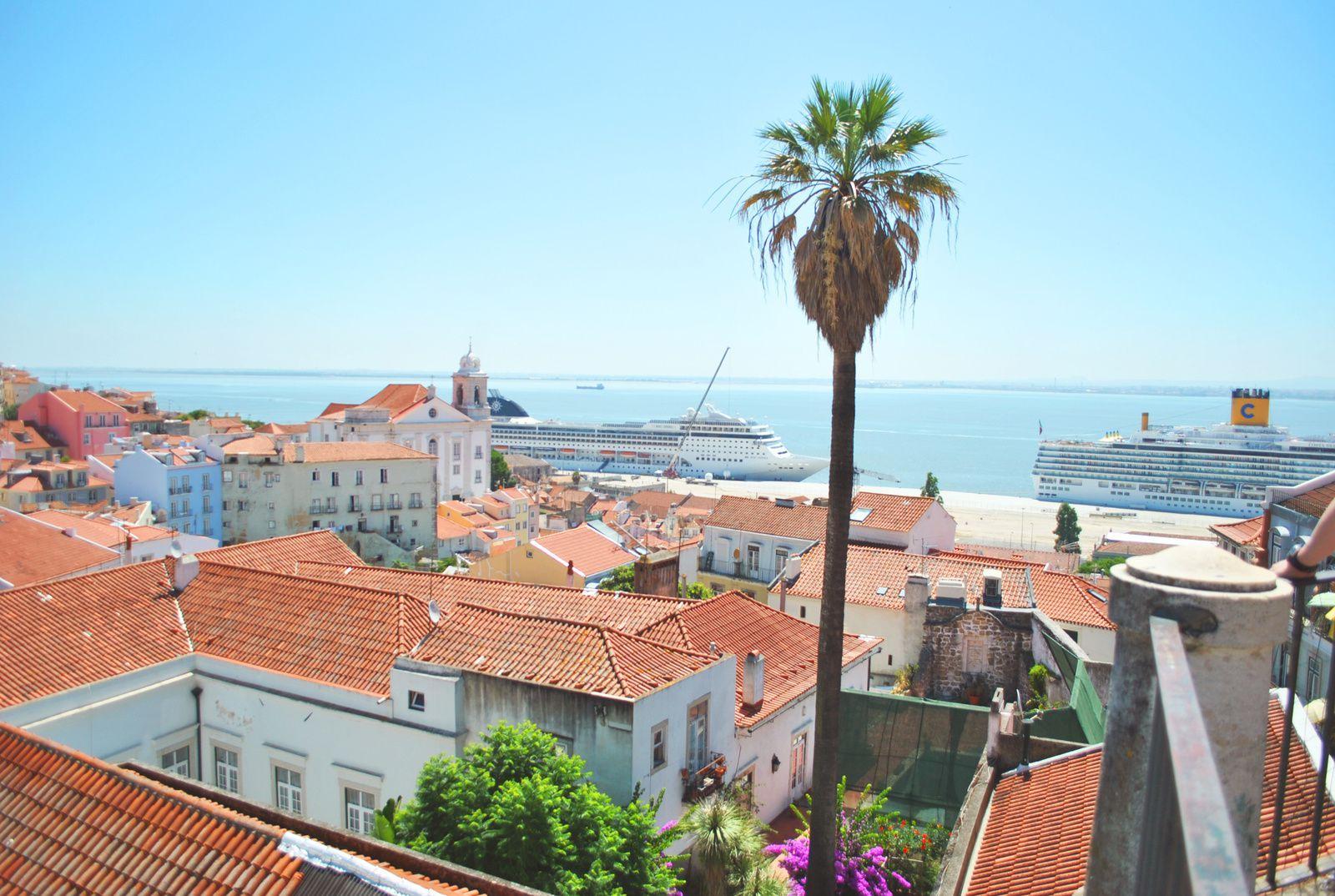 Lisbone, le tage